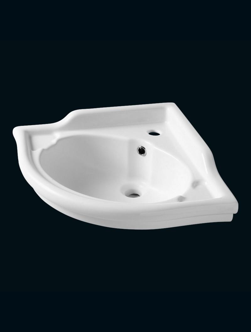 lavabo d 39 angle ramses angle blanc. Black Bedroom Furniture Sets. Home Design Ideas