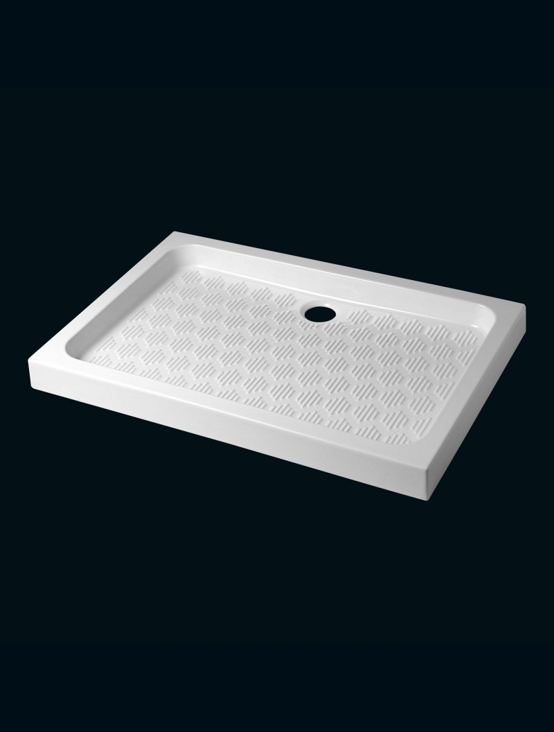 receveur 80 x 120 nf blanc godart distribution. Black Bedroom Furniture Sets. Home Design Ideas