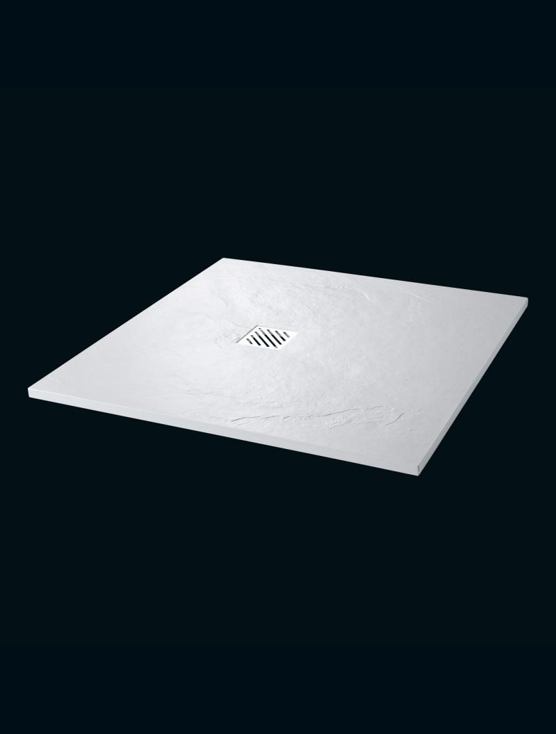 receveur extra plat 90x90 bahamas blanc godart. Black Bedroom Furniture Sets. Home Design Ideas